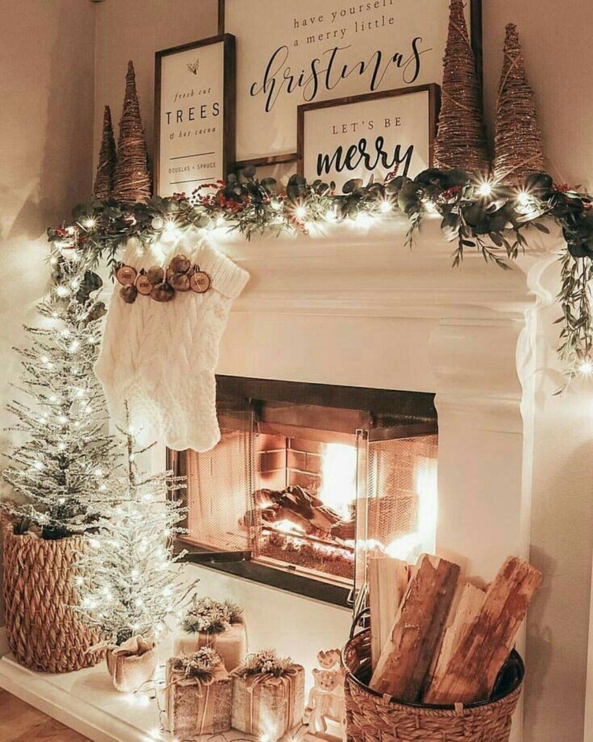 Χριστουγεννιάτικη Διακόσμηση εσωτερικού χώρου